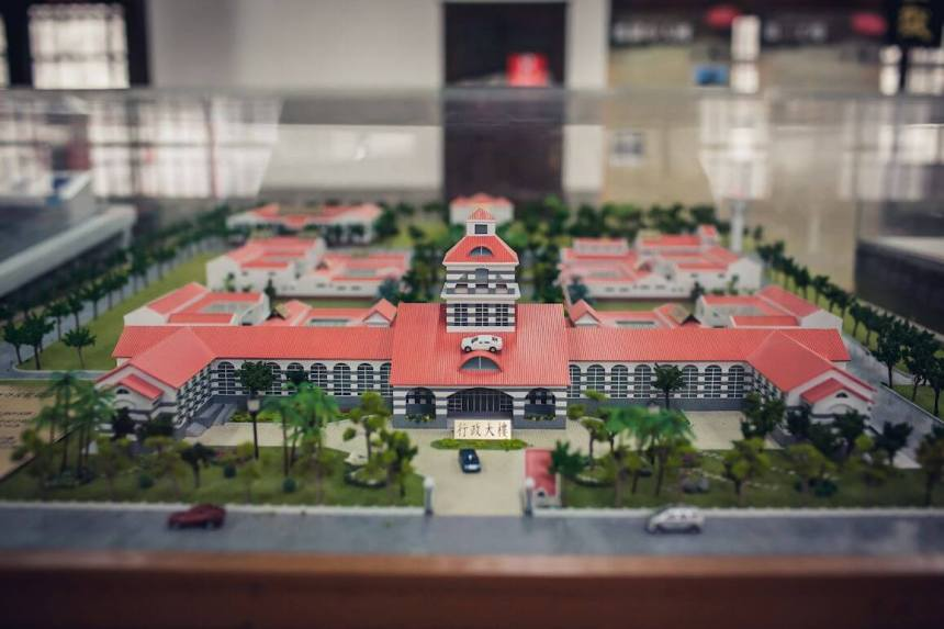 Model of Chiayi Old Prison