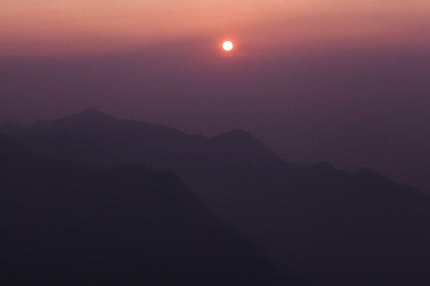 Sunset at Shizhuo