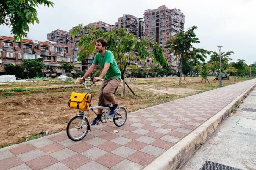 bike trip in taipei
