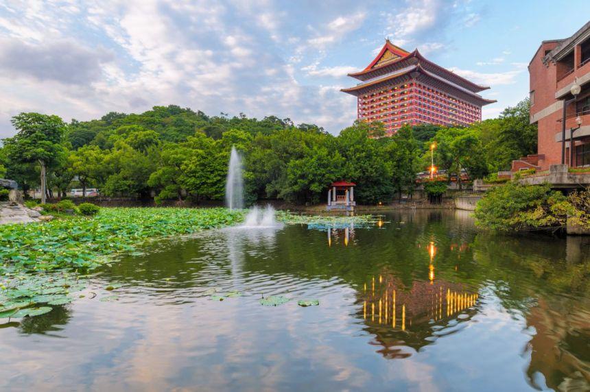Grand hotel in Taipei, Taiwan