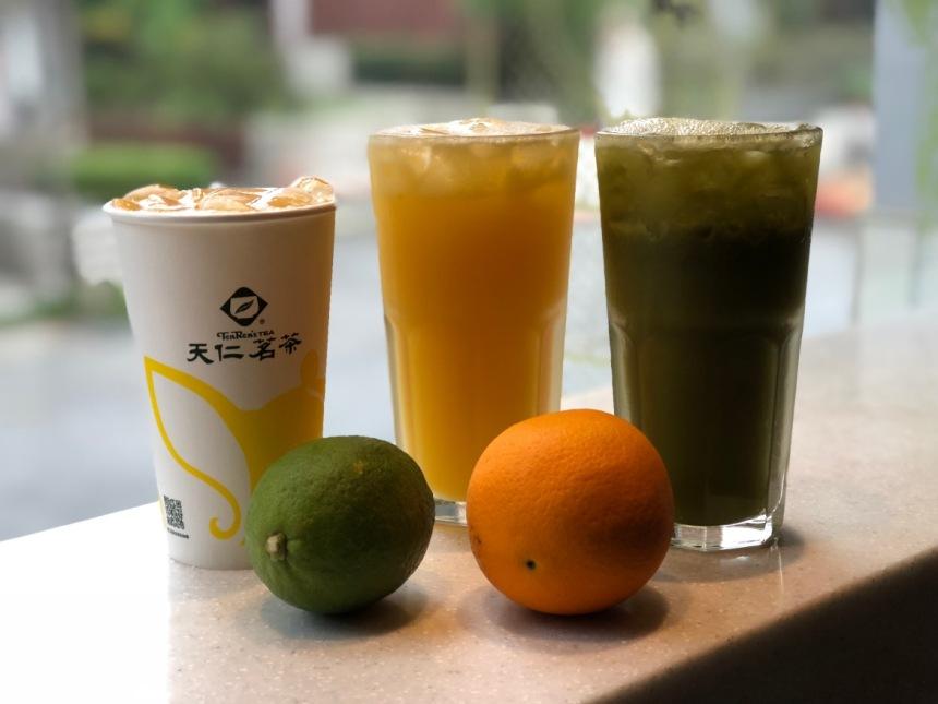 taiwan-scene-handmade-drinks-in-taiwan-tien-ren-Fresh-fruit-matcha-Green-Tea-1